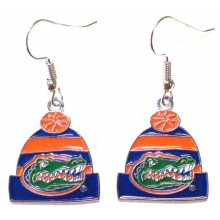 NCAA Officially Licensed Florida Gators Beanie Style Dangle Earrings