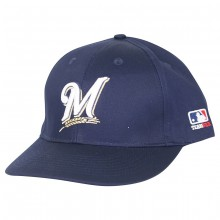 MLB Officially Licensed Milwaukee Brewers Adjustable Baseball Hat Cap Lid Toque