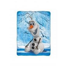 """Disney Frozen Olaf """"Chills and Thrills"""" Micro Raschel Fleece Throw"""