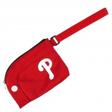 MLB Officially Licensed Philadelphia Phillies Stadium Wristlet Purse Handbag