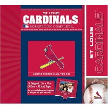 "MLB Officially Licensed St. Louis Cardinals 12"" X 12"" Tapestry Complete Scrap..."