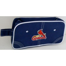 MLB Officially Licensed St. Louis Cardinals Cosmetic Accessory Travel Dopp Kit Bag