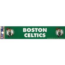 """NBA Licensed Boston Celtics 2"""" X 10"""" Bumper Sticker"""
