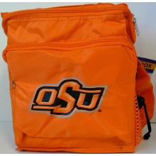 NCAA Officially Licensed Oklahoma State Cowboys Heatsealed Insulated Lunch Box with Mesh Pouch on Side