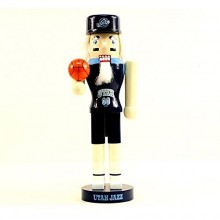 "NBA Licensed Utah Jazz 12"" Collectible Team Nutcracker"