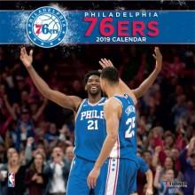 Philadelphia 76ers  12 x 12 Wall Calendar 2019