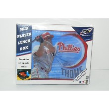 MLB Officially Licnesed Philadelphia Phillies Jim Thome Team Player Lunch Box