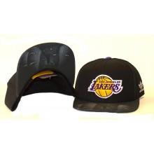 NBA Licensed Los Angeles Lakers Flat Bill Snap Back Hat Cap Lid