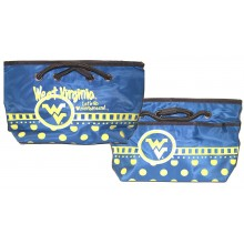 NCAA Officially Licensed West Virginia Mountaineers Team Logo Fashion Purse Bag
