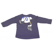 NHL Licensed St. Louis Blues INFANT Long Sleeve Hockey Player Shirt (18 Months)