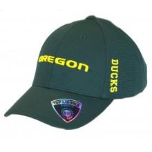 NCAA Licensed Oregon Ducks Textured Memory Fit Baseball Hat Cap Lid