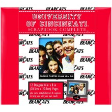 "NCAA Officially Licensed University of Cincinnati Bearcats 8"" X 8"" Tapestry C..."