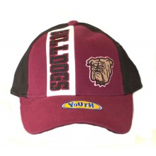 NCAA Officially Licensed Mississippi Bulldogs YOUTH Hat Cap Lid
