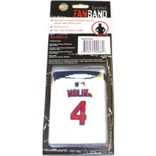 MLB Officialy Licensed St. Louis Cardinals Molina #4 Fanband Wristband Sweatband