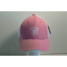 NFL Oakland Raiders Pink Trucker Style Baseball Hat