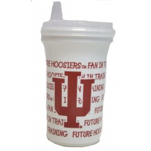 NCAA Licensed Sippy Cup with Lid (Indiana Hoosiers)