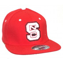 NCAA Licensed NC State Wolfpack Stretch Fit Baseball Hat Cap (XL)