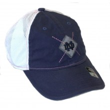 NCAA Officially Licensed Notre Dame Womens Mesh Back Hat Cap Lid
