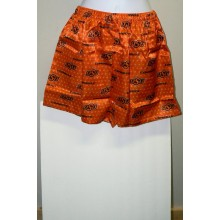 NCAA Oklahoma State University OSU Cowboys Womans Team Fan Repeater Lounge Shorts Size Medium