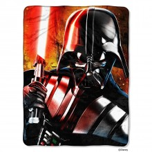 Star Wars Master of Evil High Definition Silk Touch Throw