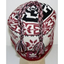 Officially Licensed New Mexico State Aggies Uncuffed Tassled Beanie Hat Cap Lid Toque