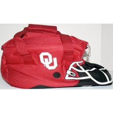 NCAA Officially Licensed University of Oklahoma Sooners 12-Can Helmet Shaped Cooler Bag