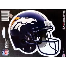 """NFL Officially Licensed Denver Broncos Helmet Die-cut 6"""" Window Decal"""