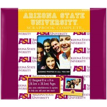 """NCAA Officially Licensed Arizona State University 8"""" X 8"""" Tapestry Complete S..."""
