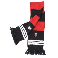 MLS Officially Licensed DC United Double Sided Striped Fringe Scarf