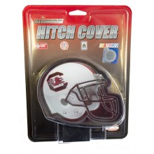"NCAA Licensed South Carolina Gamecocks 4"" Helmet Design Hitch Cover"