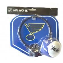 NHL Licensed St. Louis Blues Mini Softee Hoop Set