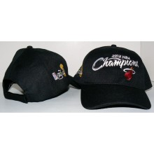 NBA Officially Licensed Miami Heat 2012 NBA Champions Collectible Baseball Cap