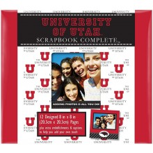 "NCAA Officially Licensed University of Utah Utes 8"" X 8"" Tapestry Complete Sc..."