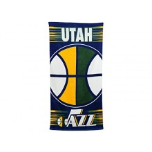 "Utah Jazz 30"" x 60"" Ball Beach Towel"