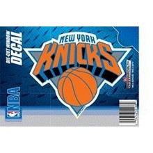NBA Officially Licensed Die-Cut Window Decal (New York Knicks)