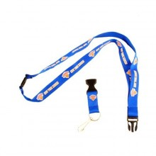 NBA Officially Licensed Breakaway Lanyard Key Chain (New York Knicks)