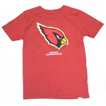 NFL Officially Licensed Arizona Cardinals Reflective Gold Outline Ghost Logo Youth T-Shirt