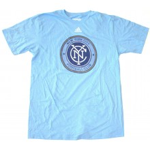 MLS Officially Licensed New York City Football Club Faux Stitched Shirt (Large)