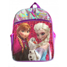 Disney Officially Licensed Frozen Backpack with Larger Front Pocket
