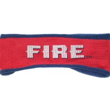 MLS Licensed Chicago Fire Fleece Lined Team Name Ear Warmer Headband