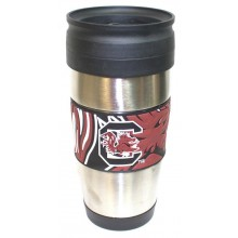 NCAA Officially Licensed South Carolina Gamecocks 15 oz Stainless Steel 3-D W...