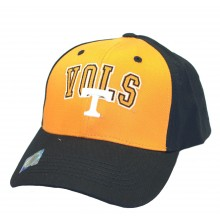 NCAA Licensed Tennessee Volunteers 2-Tone Embroidered Logo Baseball Style Hat Cap
