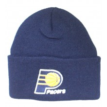 NBA Officially Licensed Indiana Pacers Navy Classic Cuffed Beanie Hat