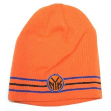 NBA Officially Licensed New York Knicks 3 Stripe Beanie Hat Cap Lid