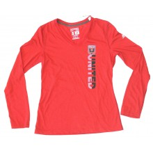 MLS Officially Licensed DC United Sidebar Long Sleeve Shirt