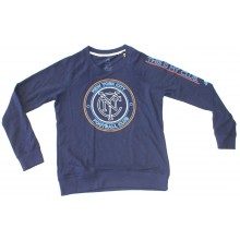 MLS Officially Licensed New York City Football Club Navy Long Sleeve (Small)