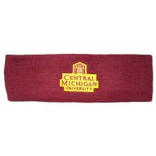 NCAA Licensed Central Michigan Embroidered Logo Sweatband Headband