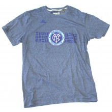 MLS Officially Licensed New York City Football Club Raised Graphics Shirt (Large)