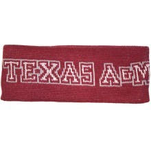 NCAA Licensed Texas A&M Aggies Knit Team Name Sweatband Headband