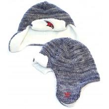 NBA Officially Licensed Atlanta Hawks Ushanka Trooper Style Beanie Hat Cap Lid Toque